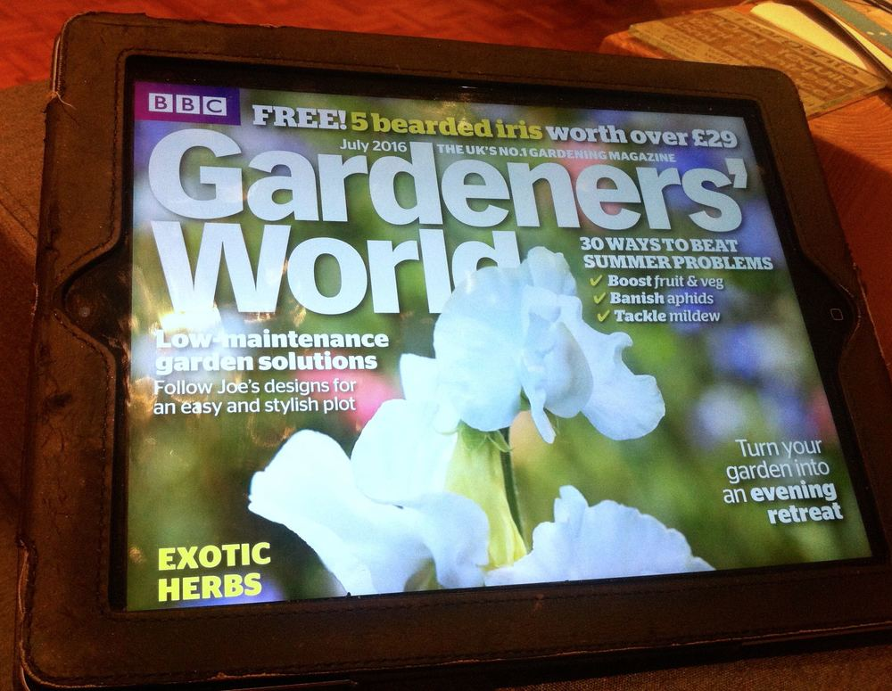 Gardeners World is available to read digitally on Readly