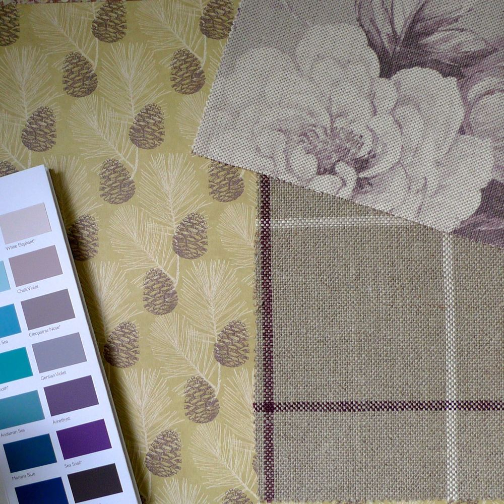 A NATURE INSPIRED BACKGROUND WITH PURPLE AND BLUE PAINT CHART AND BRUNEL AND NEW ENGLAND
