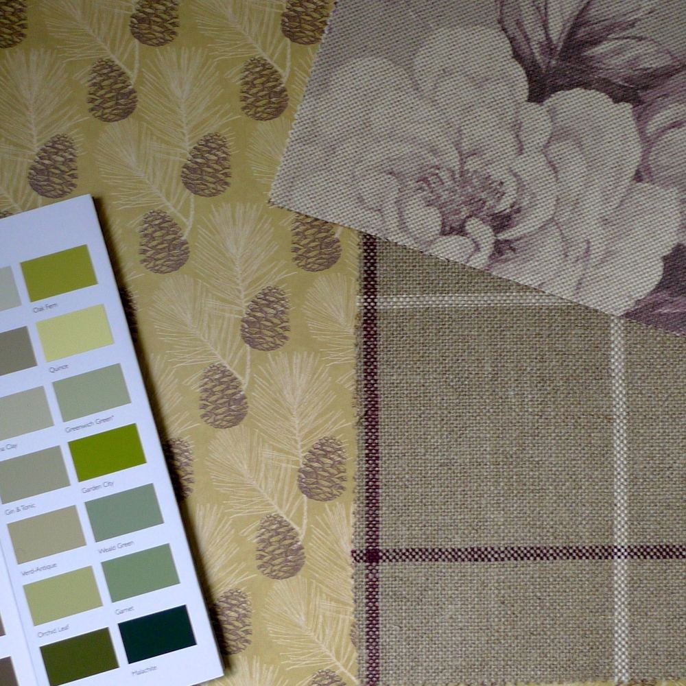 A NATURE INSPIRED BACKGROUND WITH A ZINGY PAINT CHART AND BRUNEL AND NEW ENGLAND