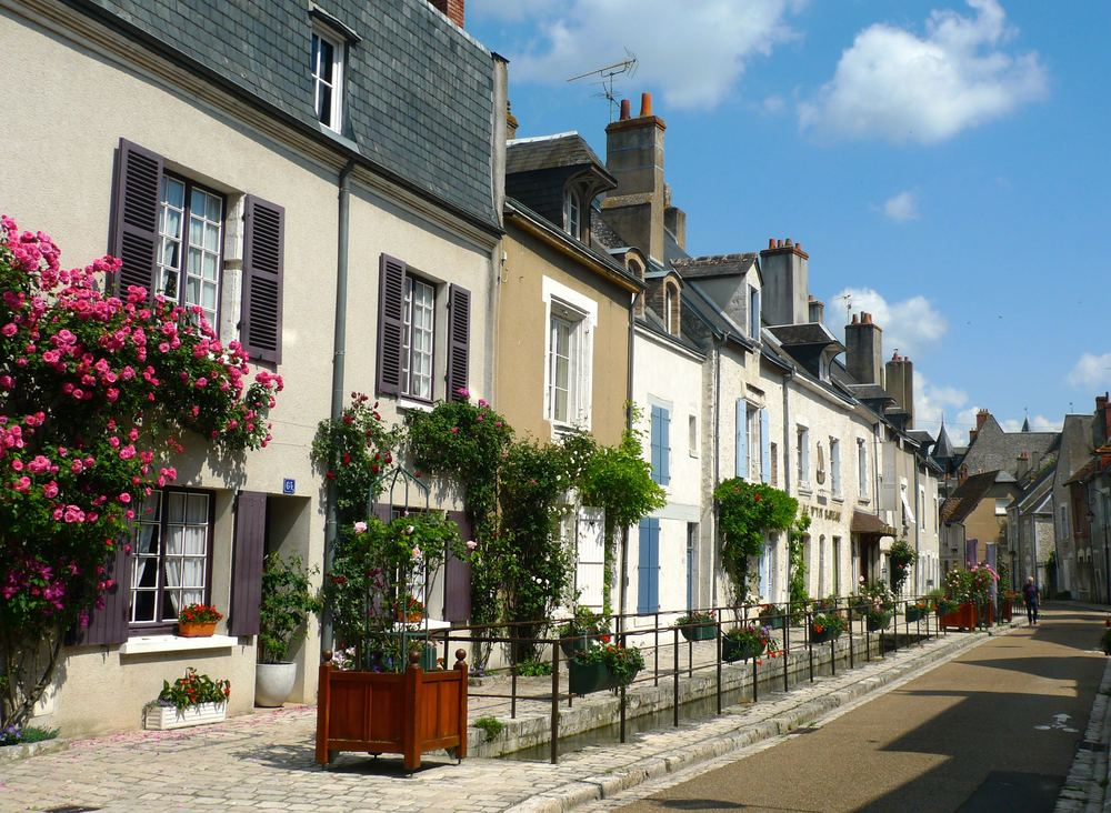 Beaugency is full of pretty picturesque streets