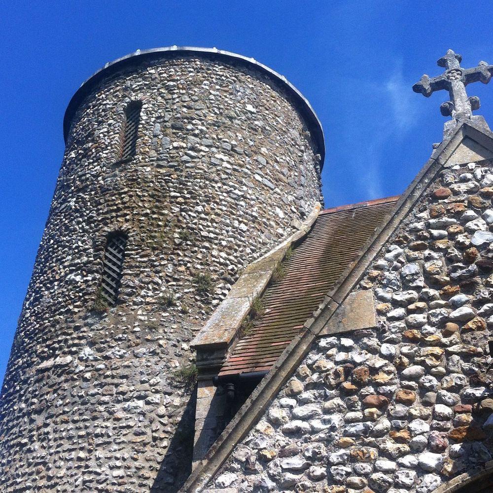St Mary's Church in Burnham Deepdale Norfolk