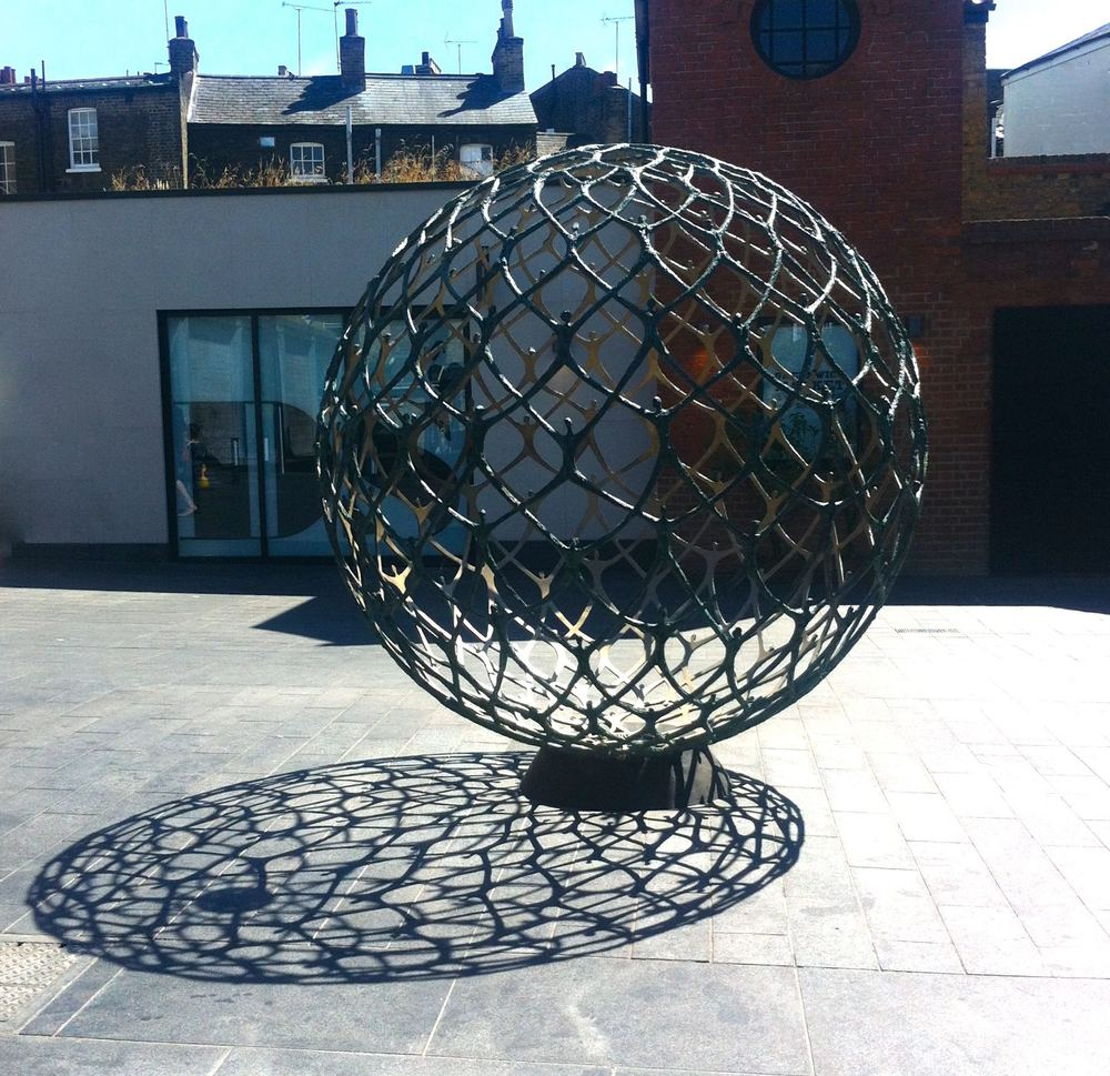 'ENCOMPASS' AT GREENWICH MARKET BY MICHAEL SPELLER