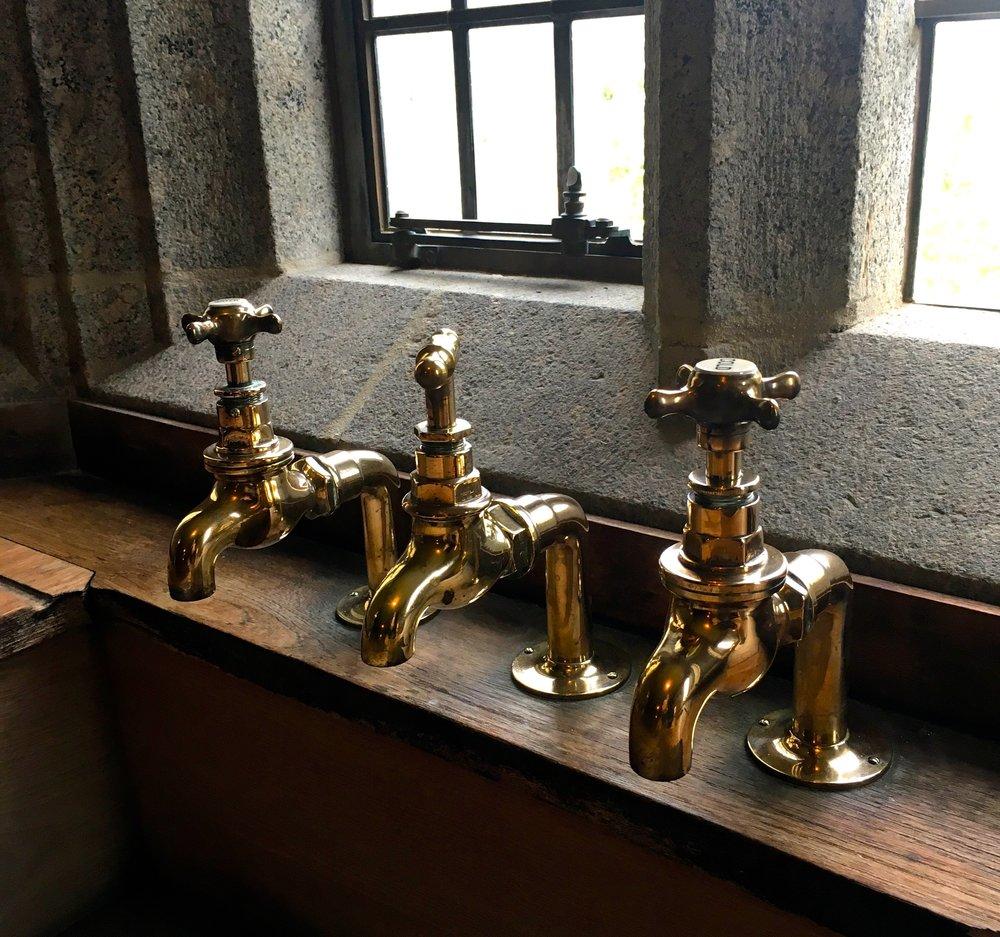 taps at Castle Drogo