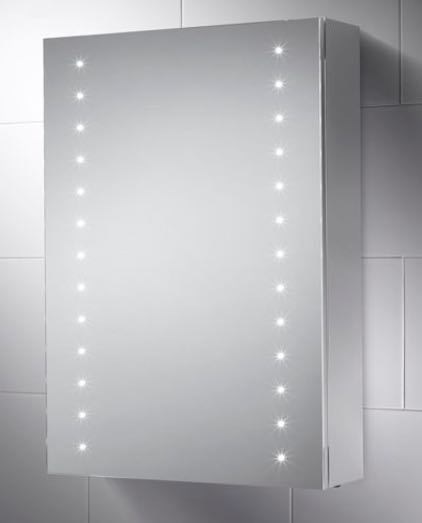 SANDY LED ILLUMINATED BATHROOM CABINET