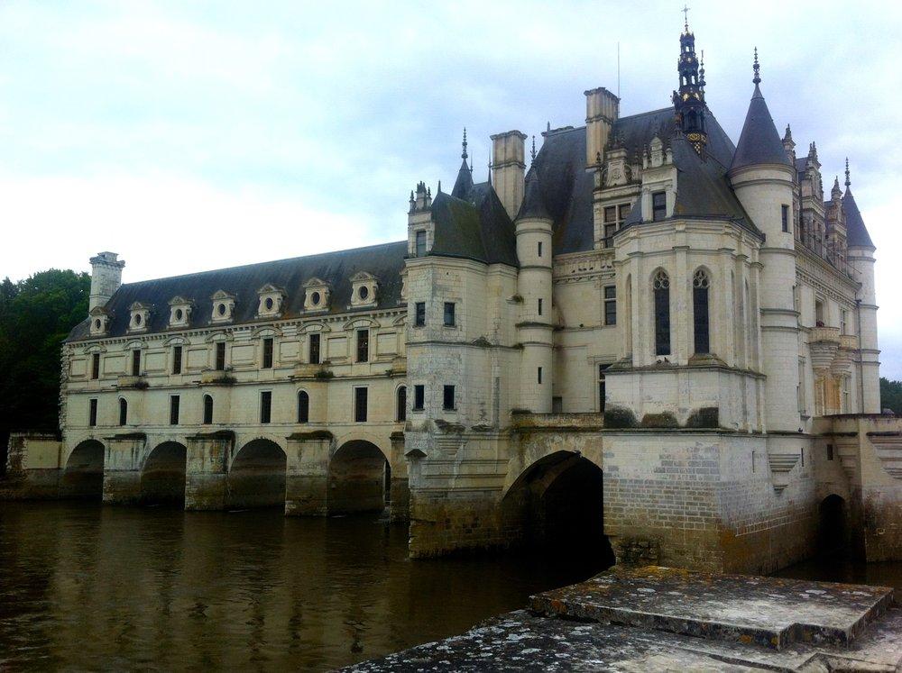 Chateau de chenonceau from Diane de Poitiers garden