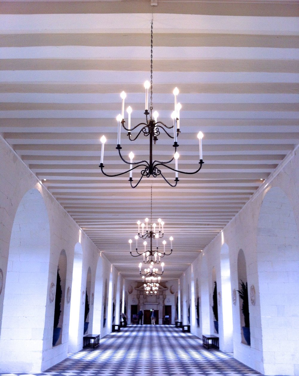 The gallery at Chenonceau