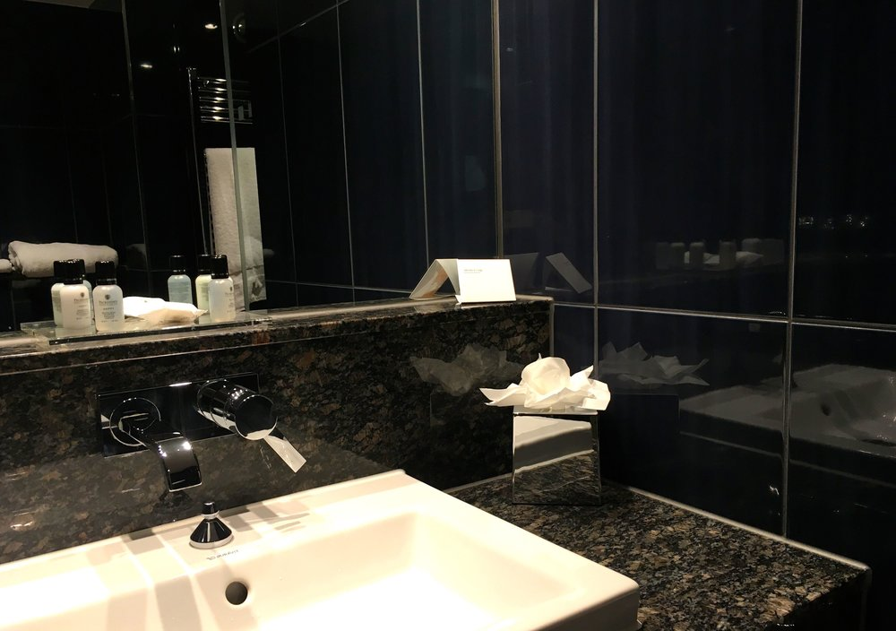 Brooklands Hotel in Weybridge, like me do you check out the bathroom too
