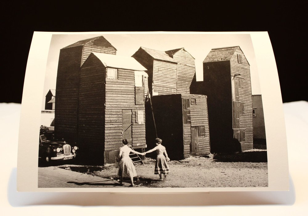 ERIC DE MARÉ OF 'SKYSCRAPER' FISHERMEN'S SHEDS IN HASTINGS Picture Credit: RIBA