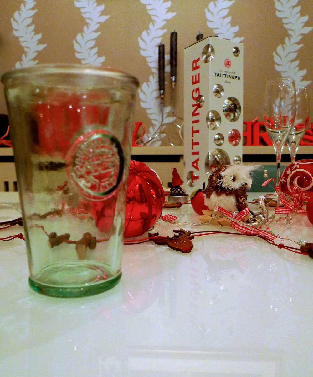 Recycled glasses from TK Maxx