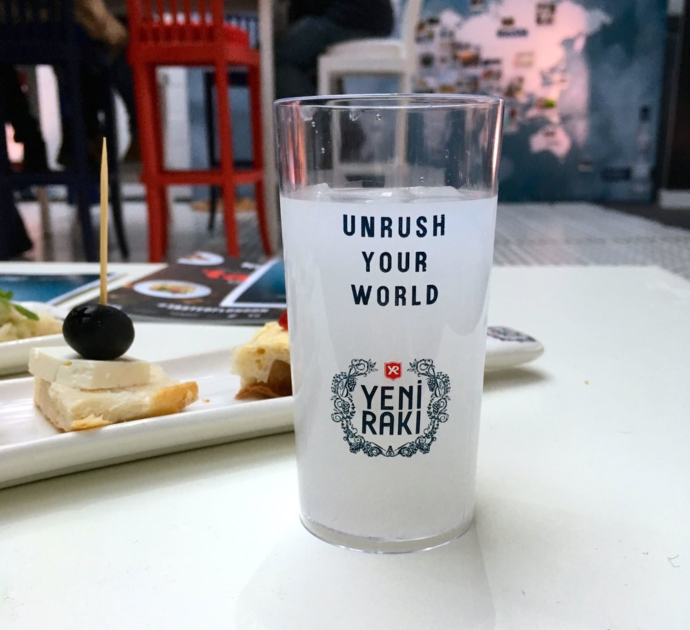 Unrush your world with Yeni Raki