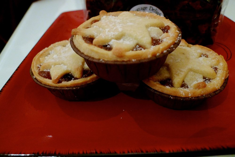 Mince pies, not everyone likes them but they're the Christmas treat we eat throughout December