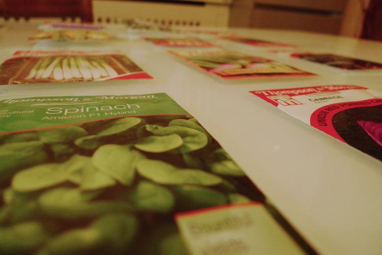 March: Seeds, seeds, seeds
