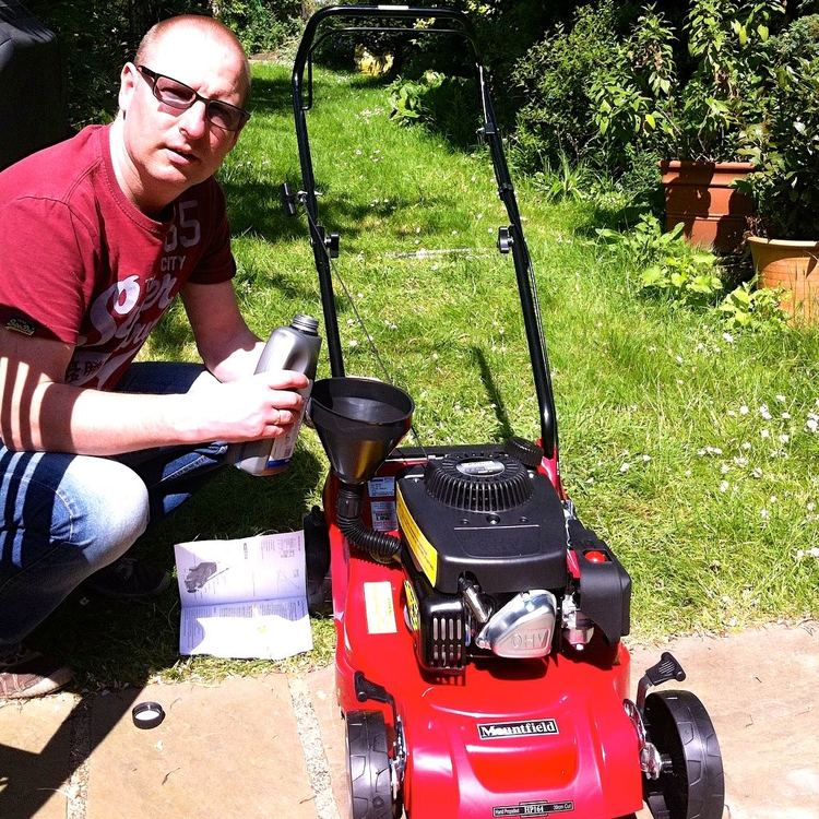 May: A new lawnmower and a tidier garden