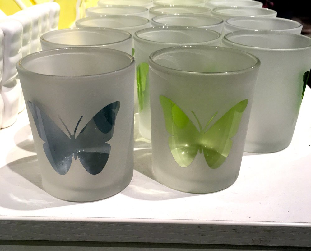 BUTTERFLIES FOR YOUR TEA LIGHTS