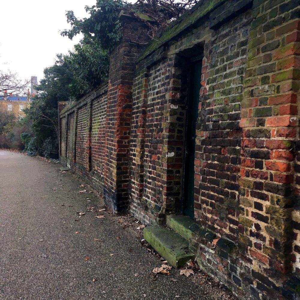 Imagine opening your back door into Greenwich Park