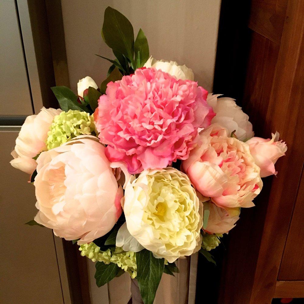 My Homesense faux Valentines bouquet
