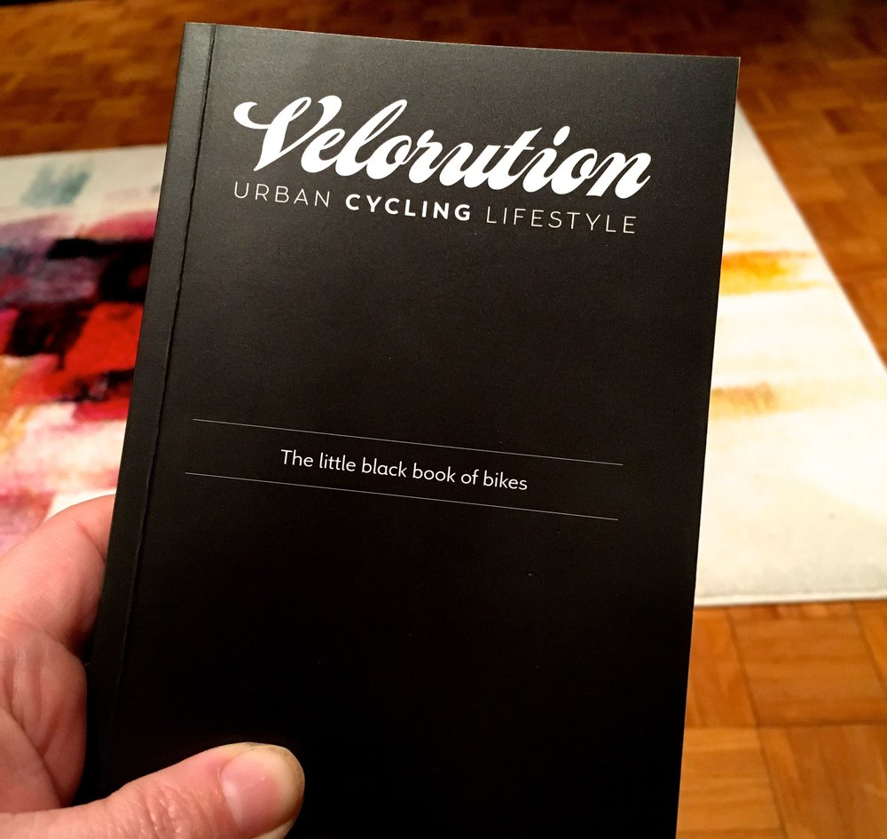 Velorution - the little black book of bikes - some post London Bike Show reading