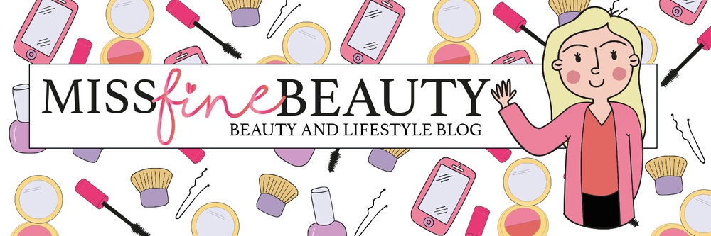 Miss Fine Beauty blog header