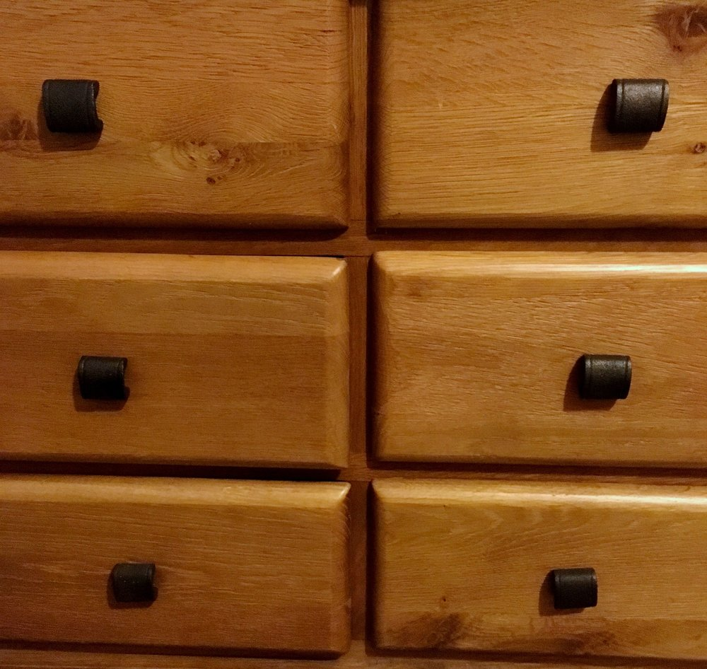 Just one of the chunky chest of drawers