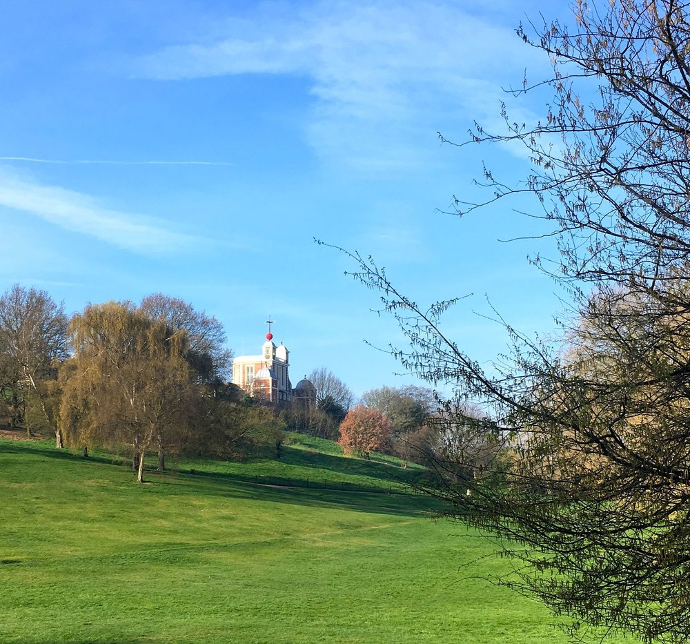 the scaffolding came down on the royal observatory this april