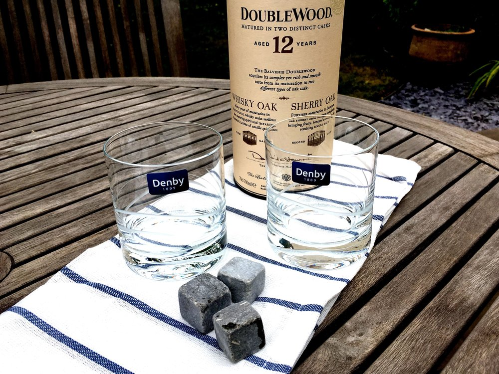 A STYLISH WAY TO ENJOY A TOT OF PURELY MEDICINAL WHISKY