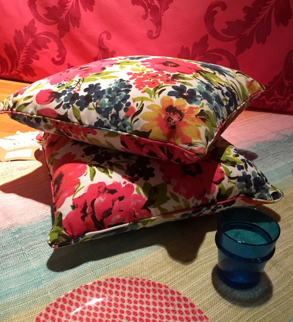 Damasks, chintz and modern geometrics from HomeSense