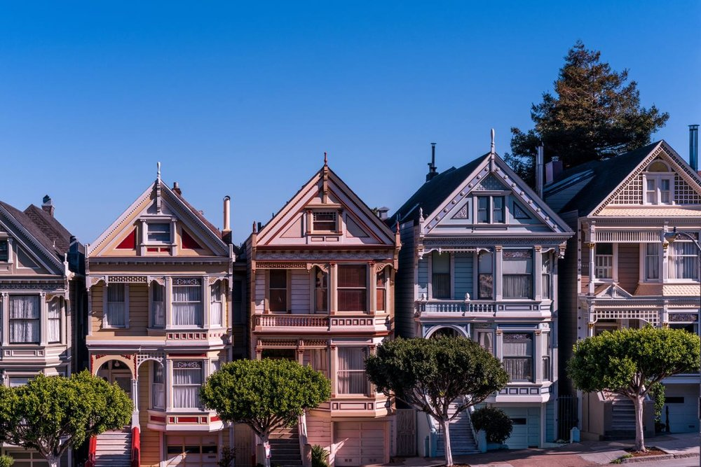 THE PAINTED LADIES IN SAN FRANCISCO (Image credit: Unsplash)