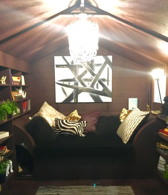 The reading snug one of the grand shed projects at Grand Designs Live 2017