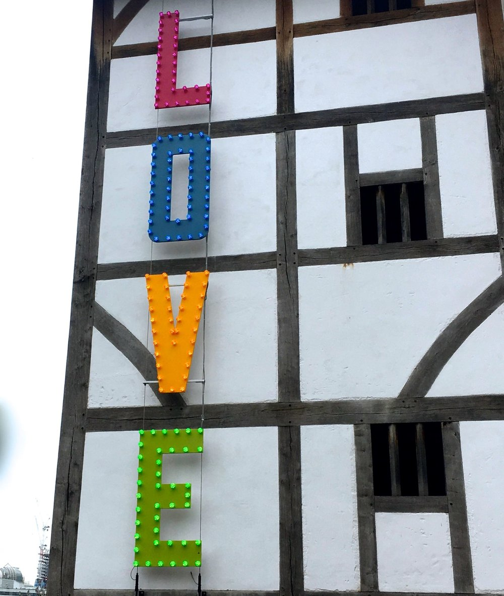 The summer of Love at Shakespeare's Globe in London