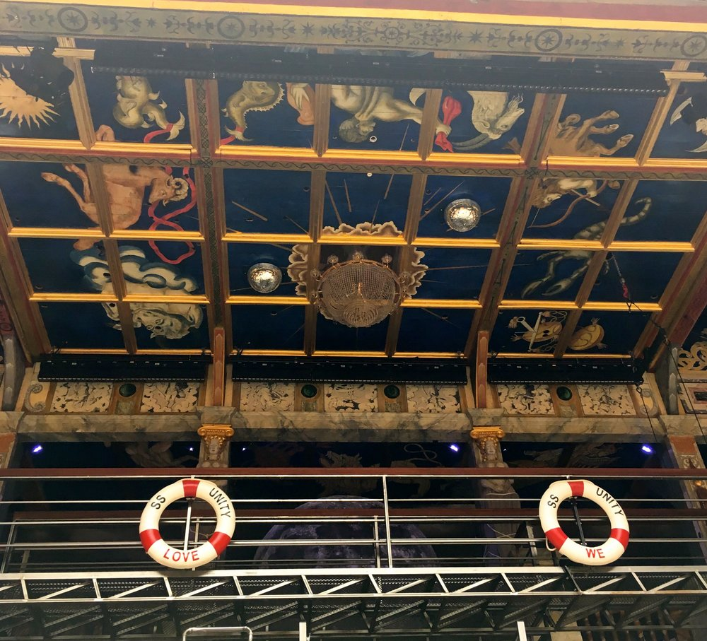 the stage at the globe in London