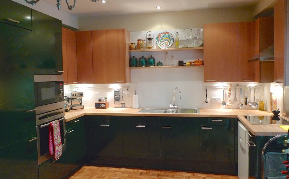 A look at our old kitchen