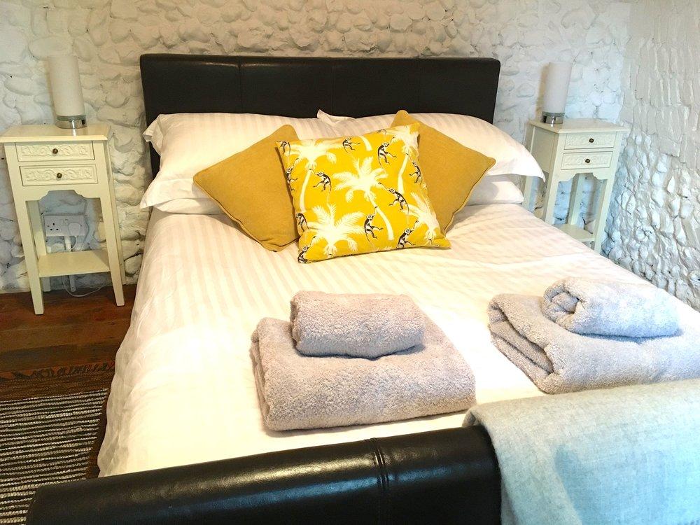 The bedroom at Oak Hill Granary in Fressingfield