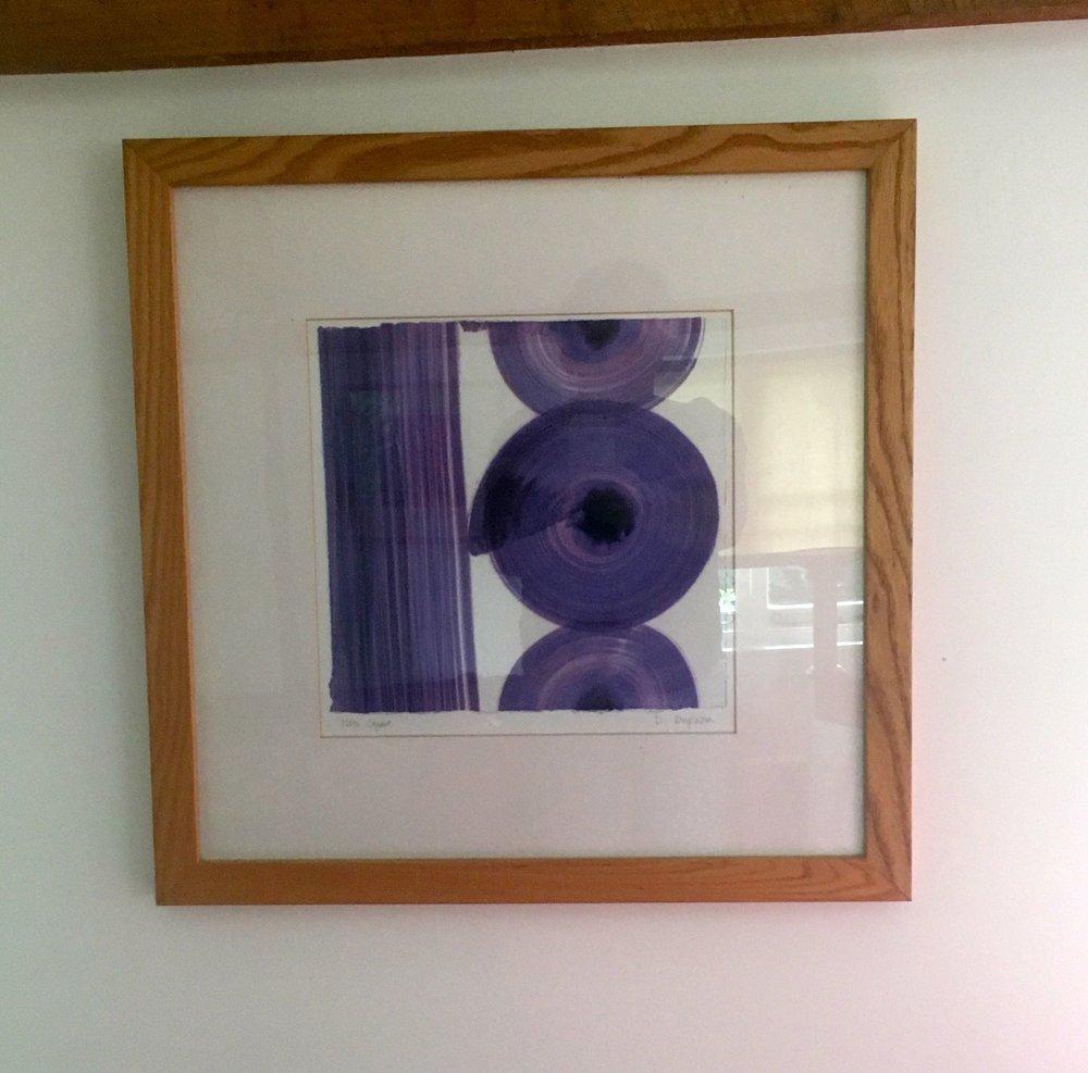 Plenty of modern art too at Oak Hill Granary in Fressingfield