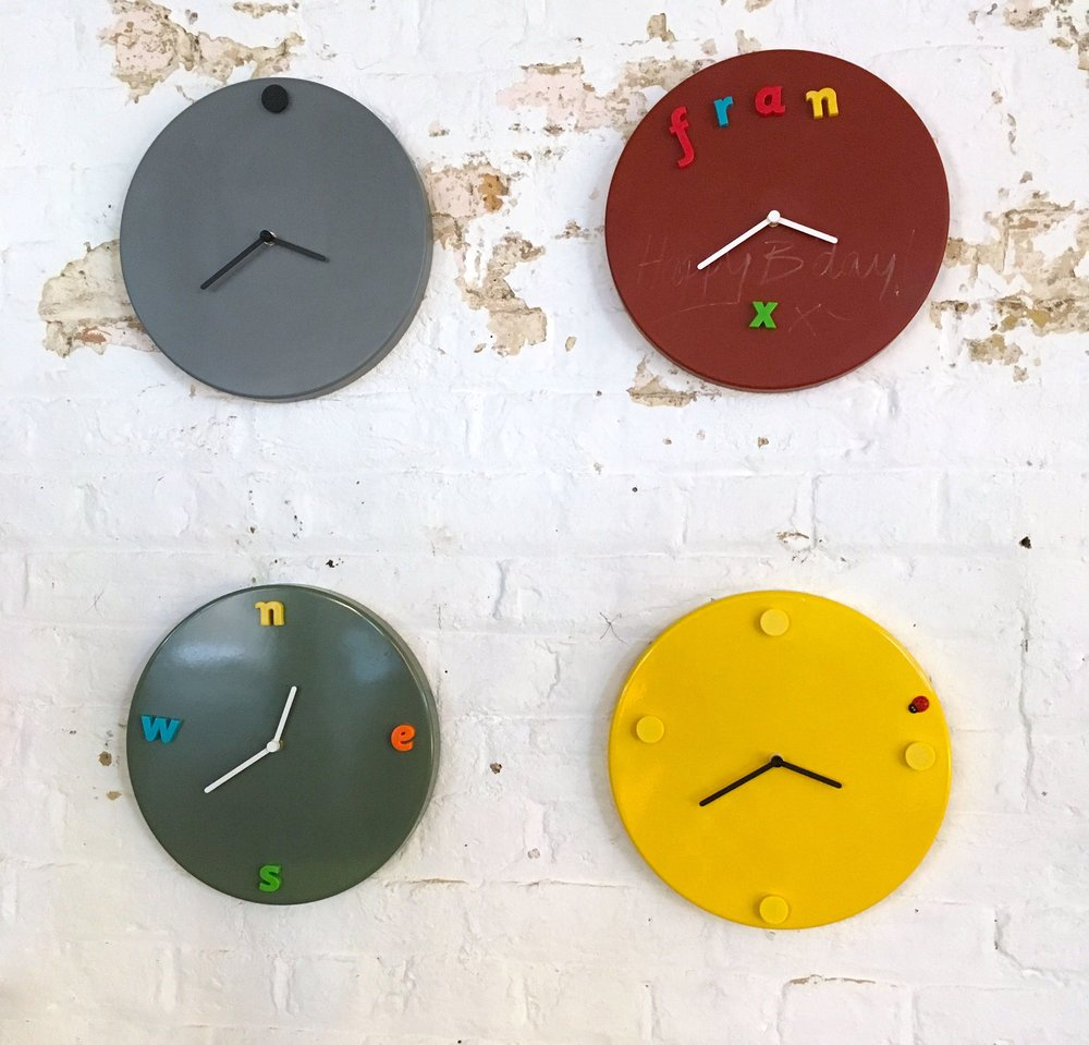 Clocks on the wall at LDF16