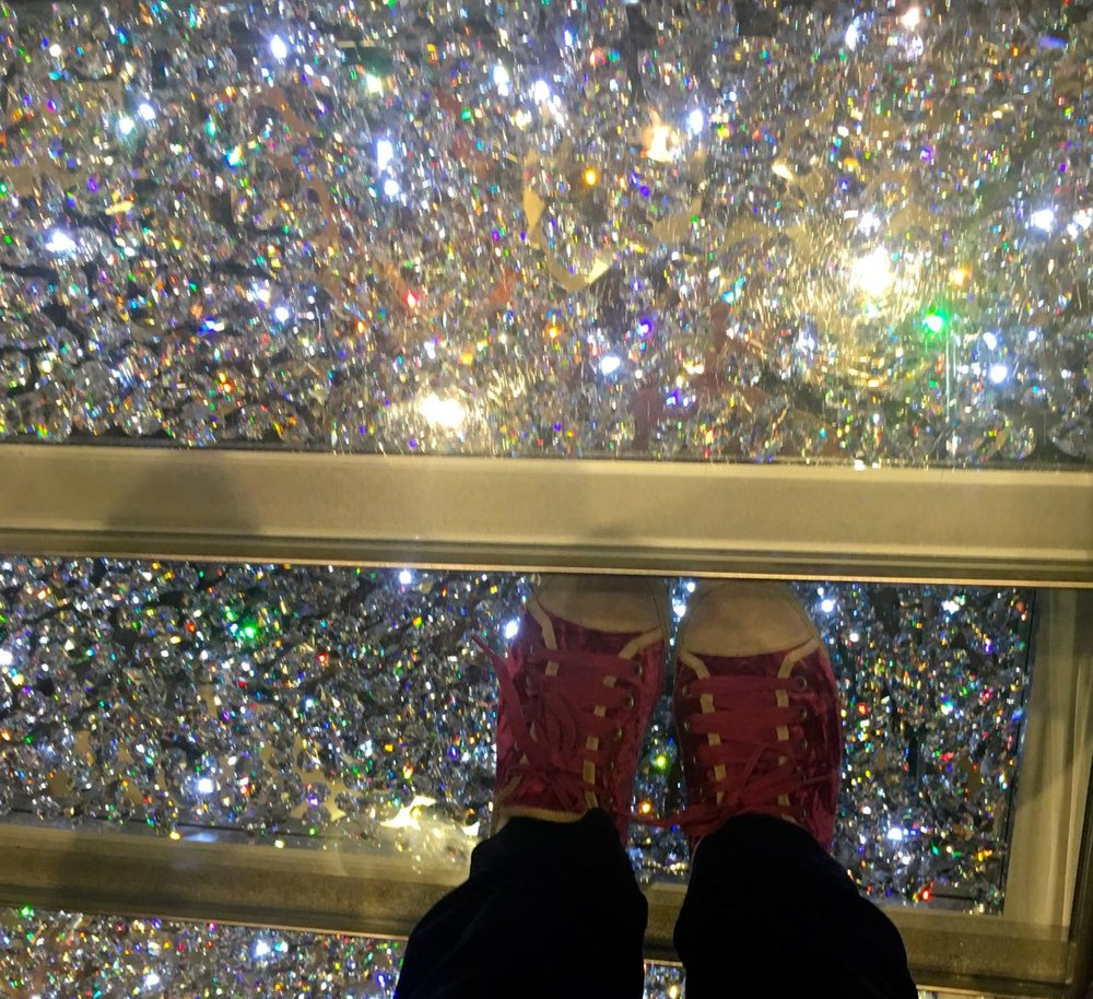 THE SWAROVSKI TREAD STAIRCASE