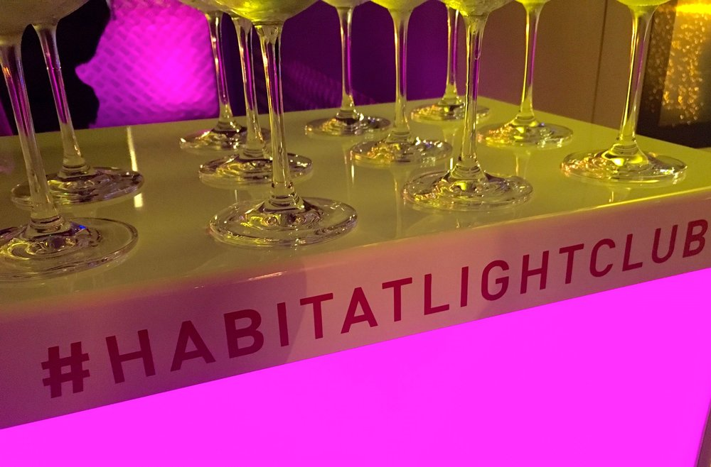 Habitat Light Club - that's a welcome