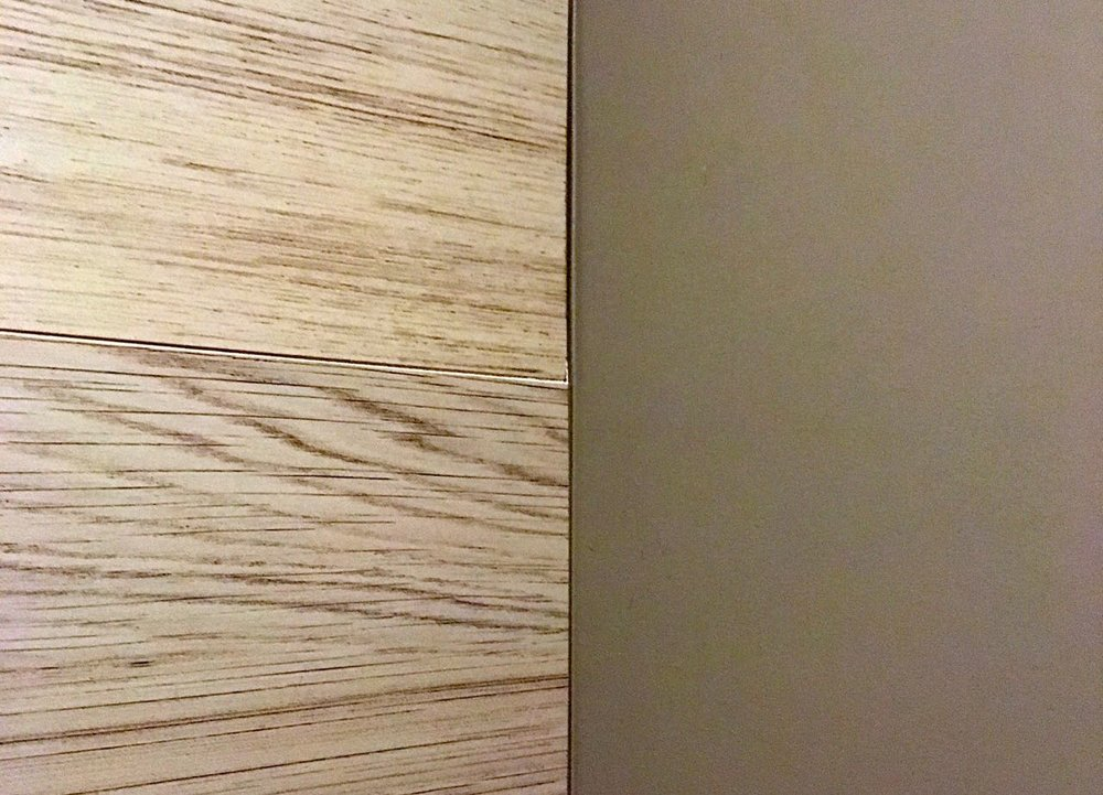 Wood effect ceramic tiles