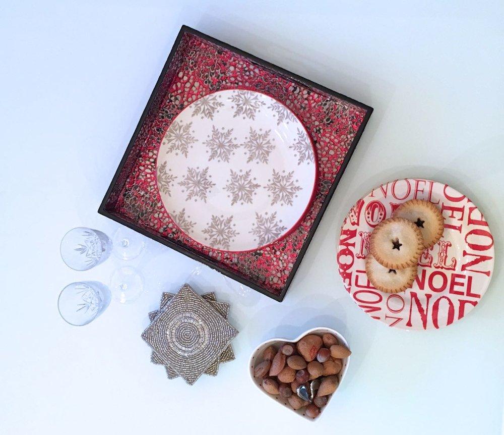 Festive tableware this Christmas from Homesense
