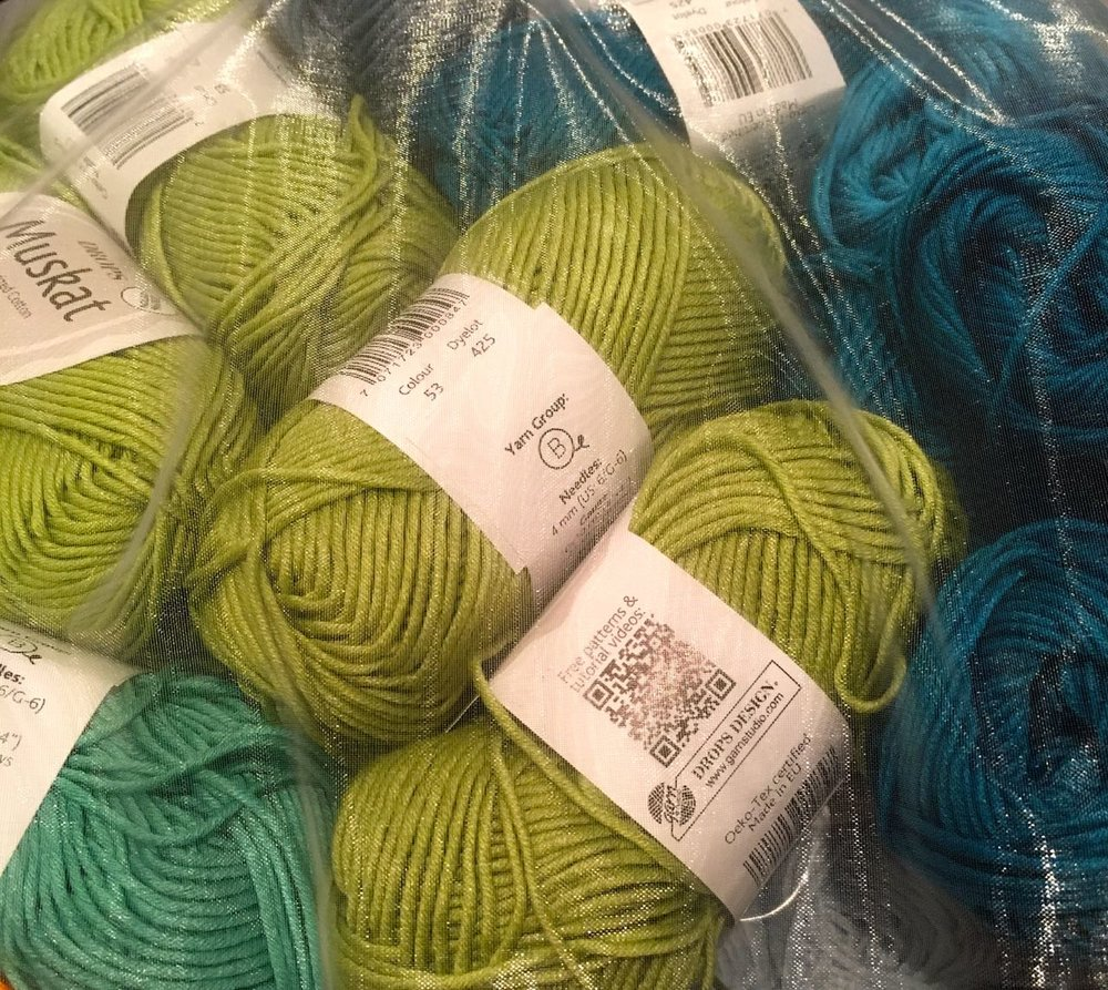part of my wool delivery for future crochet projects
