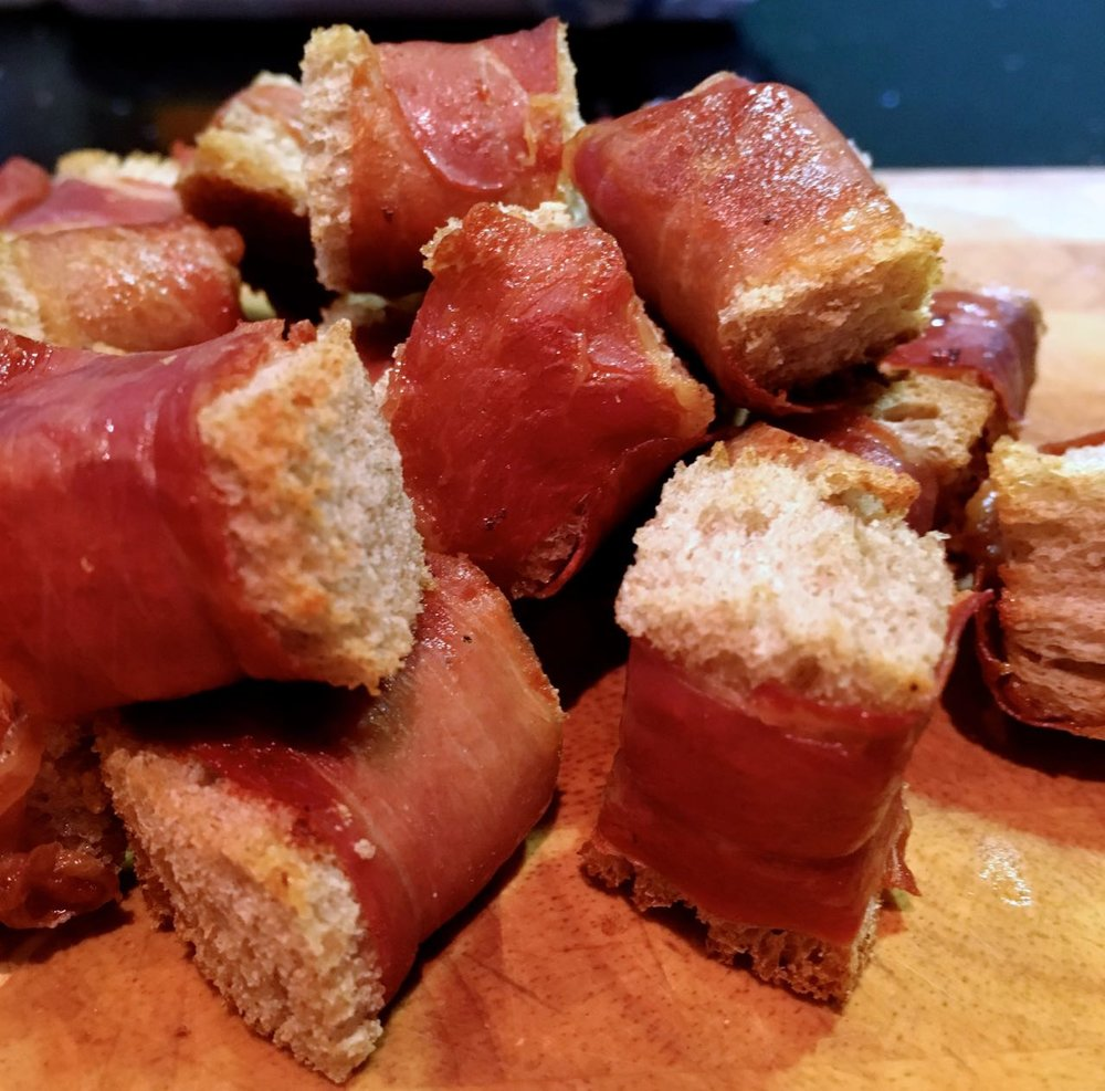 ham croutons a new discovery