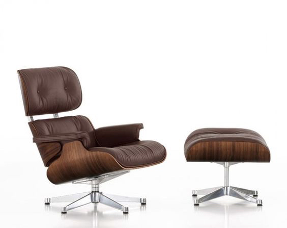 GLAM DARK WOOD:  VITRA EAMES LOUNGE CHAIR