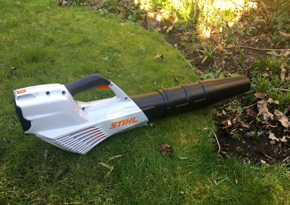 A new and welcome tool in our garden - the Stihl BG56 leafblower