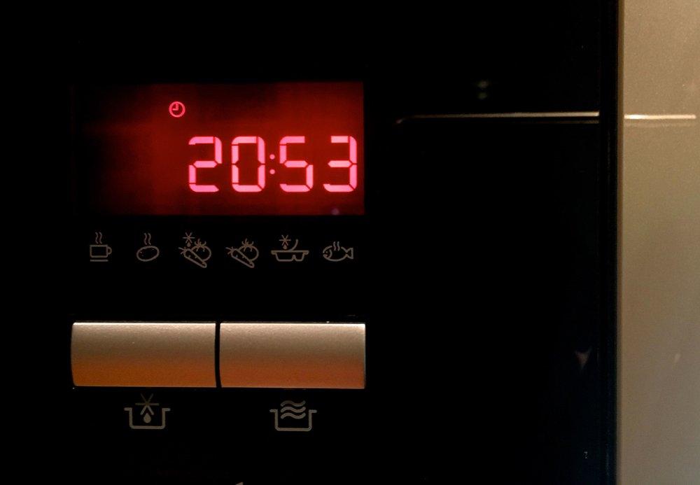 The microwave clock has so far defeated me