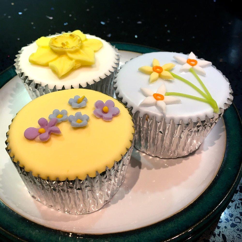Pretty fairy cakes