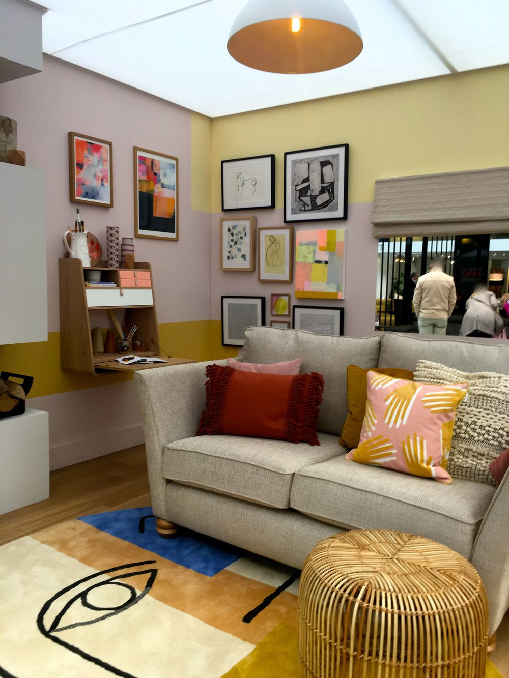 a look at the family room at this year's ideal home show