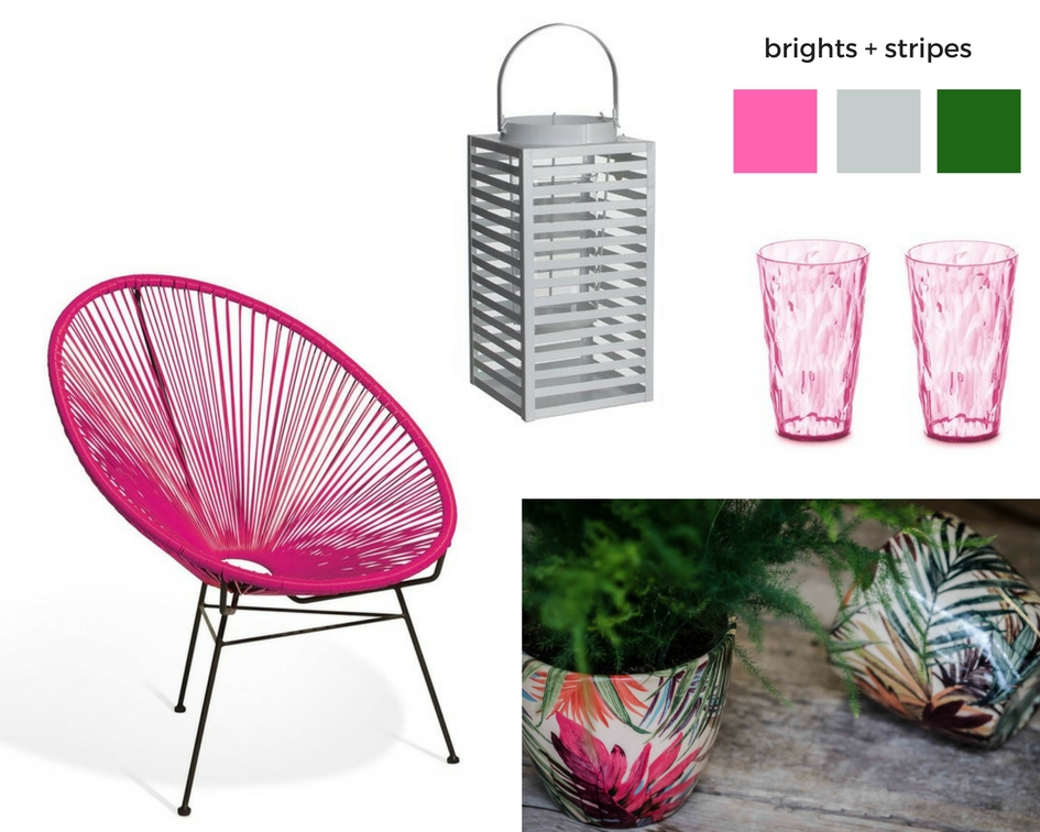 1 brights + stripes - items from Wayfair