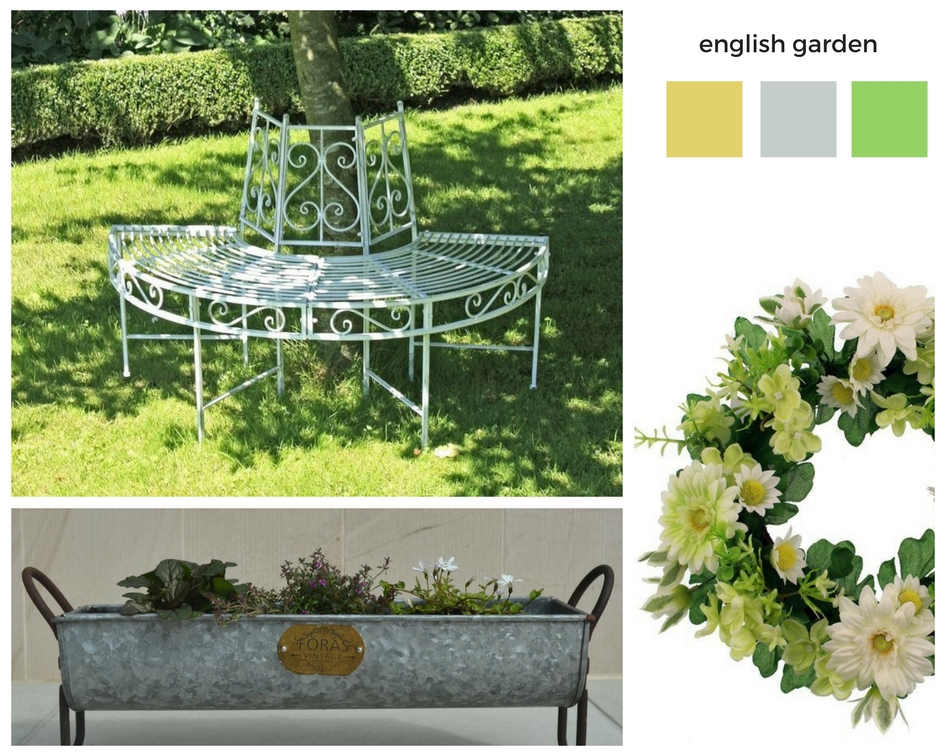 4 english garden - items from Wayfair