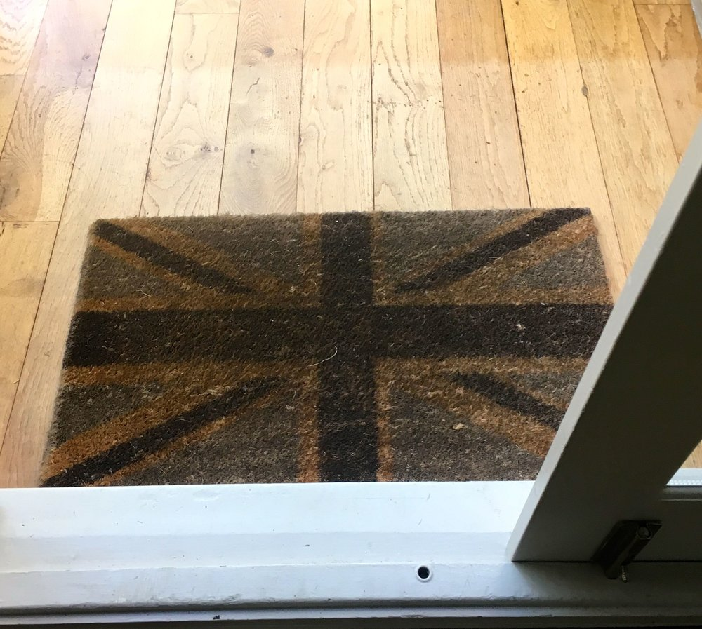 A new home for the doormat