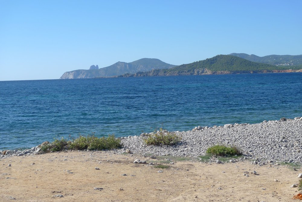 A VIEW WORTH WATCHING ON THE BEACH IN IBIZA