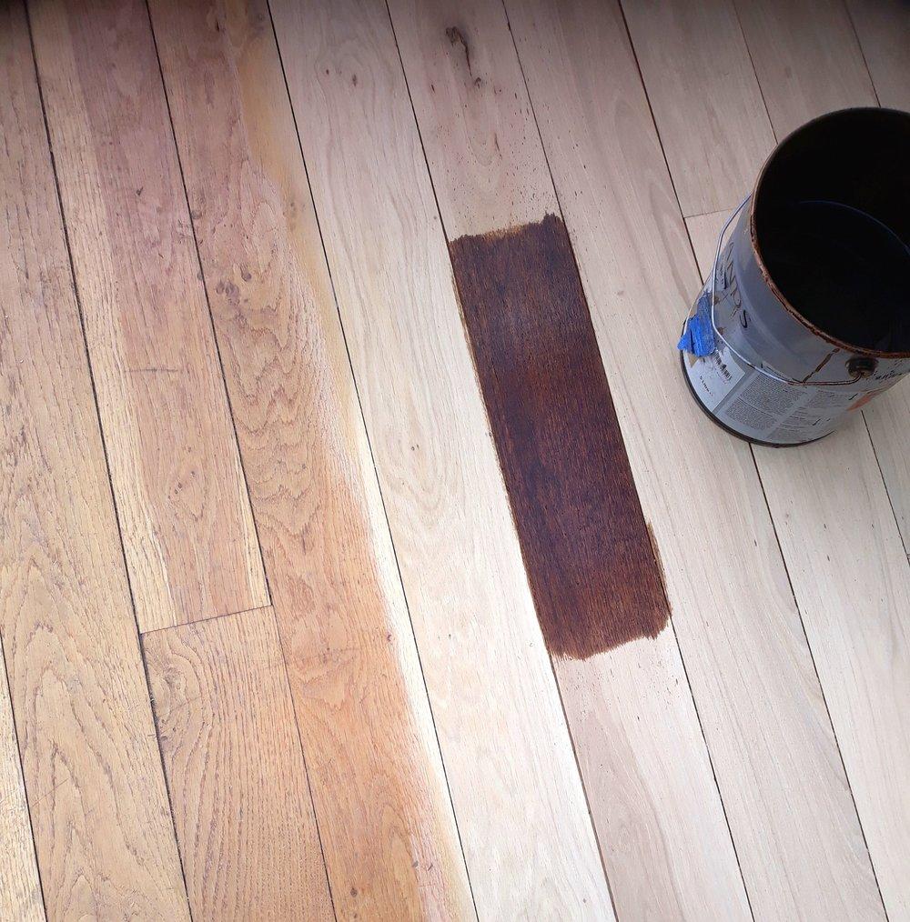choosing a floor colour